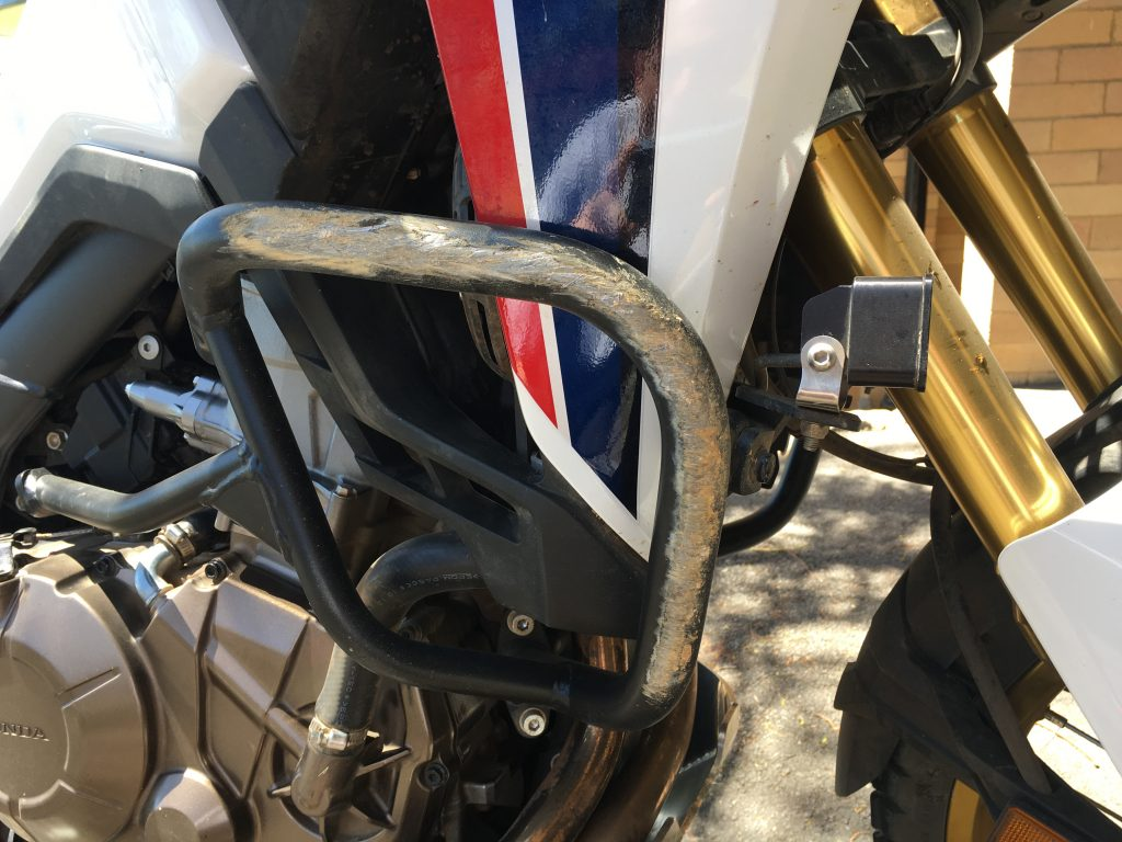 SW Motech Crash Bars Honda Africa Twin